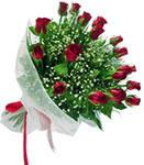 Bursa osmangazi internetten çiçek satışı  11 adet kirmizi gül buketi sade ve hos sevenler