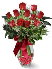 9 adet gül  Bursa osmangazi internetten çiçek satışı  kirmizi gül