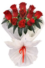 11 adet gül buketi  Bursa inegöl kaliteli taze ve ucuz çiçekler  kirmizi gül