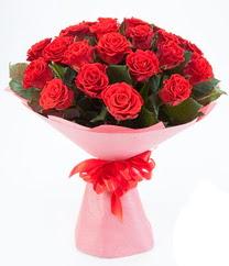 15 adet kırmızı gülden buket tanzimi  Bursa çiçek gönder nilüfer çiçek siparişi vermek