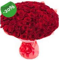 Özel mi Özel buket 101 adet kırmızı gül  Bursa osmangazi online çiçekçi , çiçek siparişi