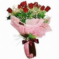 Bursa çiçek gönder nilüfer çiçek siparişi vermek  12 adet kirmizi kalite gül