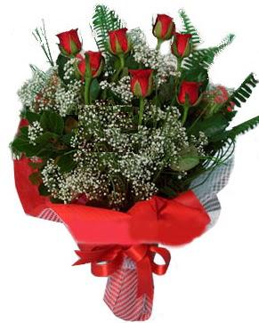 7 kırmızı gül buketi  çiçek siparişiBursa mustafa kemal paşa çiçek siparişi sitesi