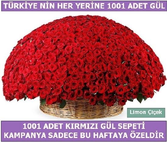 1001 Adet kırmızı gül Bu haftaya özel  Bursadaki çiçekçiler karacabey çiçekçi telefonları