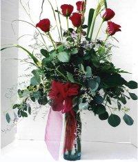 Bursa çiçek gönder nilüfer çiçek siparişi vermek  7 adet gül özel bir tanzim