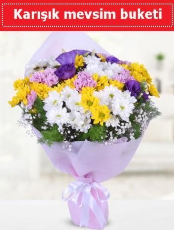 Karışık Kır Çiçeği Buketi  Bursa iznik hediye sevgilime hediye çiçek