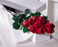 Bursaya çiçek yolla orhangazi çiçek satışı  özel kutuda 12 adet gül