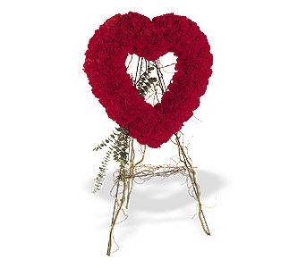 Bursa osmangazi internetten çiçek satışı  karanfillerden kalp pano
