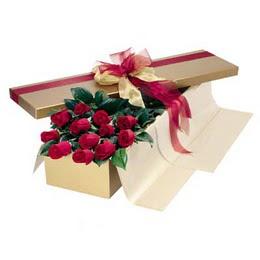 Bursa çiçek gönderimi nilüfer cicekciler , cicek siparisi  10 adet kutu özel kutu