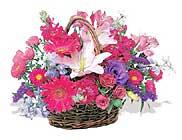 küçük karisik özel sepet   cicek Bursa iznik çiçek online çiçek siparişi