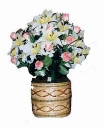 yapay karisik çiçek sepeti   çiçek siparişiBursa mustafa kemal paşa çiçek siparişi sitesi
