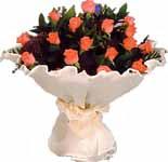 11 adet gonca gül buket   çiçek siparişi Bursa karacabey çiçek yolla