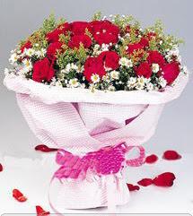 Bursa osmangazi internetten çiçek satışı  12 ADET KIRMIZI GÜL BUKETI