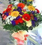 çiçekçi Bursa nilüfer hediye çiçek yolla  karma büyük ve gösterisli mevsim demeti