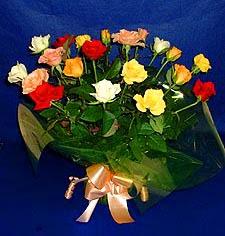çiçekçi Bursa nilüfer hediye çiçek yolla  13 adet karisik renkli güller