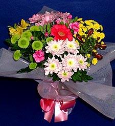 çiçekçi Bursa nilüfer hediye çiçek yolla  küçük karisik mevsim demeti