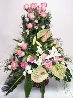 online Bursa ucuz çiçek gönder  özel üstü süper aranjman