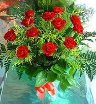 12 adet gül buketi  Bursa osmangazi online çiçekçi , çiçek siparişi