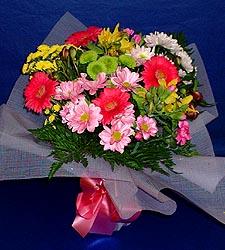 karisik sade mevsim demetligi   Bursa çiçek siparişi karacabey 14 şubat sevgililer günü çiçek
