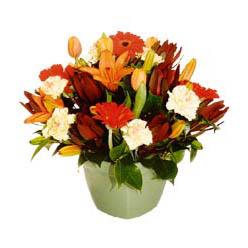 mevsim çiçeklerinden karma aranjman  Bursa yıldırım çiçek yolla , çiçek gönder , çiçekçi