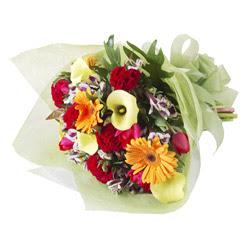 karisik mevsim buketi   Bursa çiçek satışı kestel uluslararası çiçek gönderme