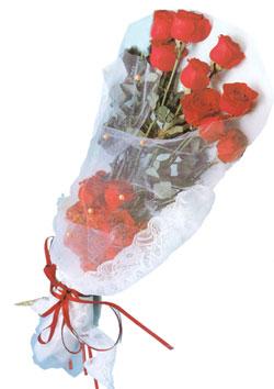 11 adet kirmizi güller buket tanzimi   Bursa çiçek gönder nilüfer çiçek siparişi vermek