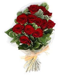Bursa yıldırım çiçek yolla , çiçek gönder , çiçekçi   9 lu kirmizi gül buketi.