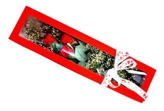 çiçekçi Bursa nilüfer hediye çiçek yolla  Kutuda 3 adet gül