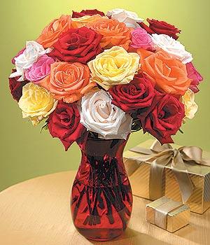 Bursa osmangazi online çiçekçi , çiçek siparişi  13 adet renkli gül