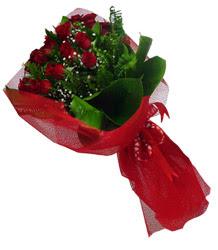çiçek siparişi Bursa karacabey çiçek yolla  10 adet kirmizi gül demeti