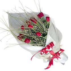 cicekciler Bursa gemlik güvenli kaliteli hızlı çiçek  11 adet kirmizi gül buket- Her gönderim için ideal