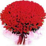 Bursa çiçek satışı kestel uluslararası çiçek gönderme  1001 adet kirmizi gülden çiçek tanzimi