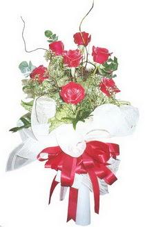 Bursa çiçek gönder nilüfer çiçek siparişi vermek  7 adet kirmizi gül buketi