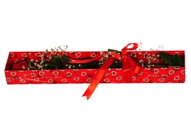 Bursa çiçekçi osman gazi çiçek gönderme sitemiz güvenlidir  kutu içerisinde 1 adet kirmizi gül