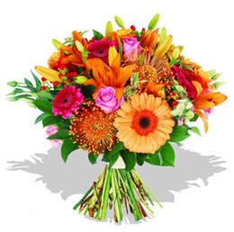 Bursa çiçekçi osman gazi çiçek gönderme sitemiz güvenlidir  Karisik kir çiçeklerinden görsel demet