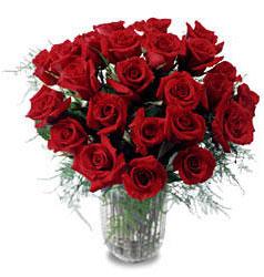 çiçek siparişi Bursa karacabey çiçek yolla  11 adet kirmizi gül cam yada mika vazo içerisinde