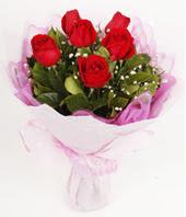 9 adet kaliteli görsel kirmizi gül  Bursa çiçek nilüfer İnternetten çiçek siparişi