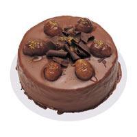 Kestaneli çikolatali yas pasta  Bursada çiçekçi osmangazi çiçek , çiçekçi , çiçekçilik