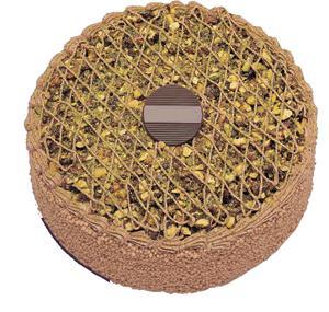 Krokanli 4 ile 6 kisilik yas pasta leziz  Bursa çiçek nilüfer İnternetten çiçek siparişi