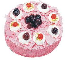 Sahane Tat yas pasta frambogazli yas pasta  çiçek siparişi Bursa karacabey çiçek yolla