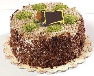 pasta gönderme 4 ile 6 kisilik çikolatali yas pasta  Bursaya çiçek yolla orhangazi çiçek satışı