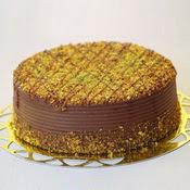 sanatsal pastaci 4 ile 6 kisilik krokan çikolatali yas pasta  çiçekçiler Bursa online çiçek gönderme sipariş
