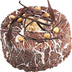 pasta satisi 4 ile 6 kisilik çikolatali yas pasta  Bursadaki çiçekçiler karacabey çiçekçi telefonları