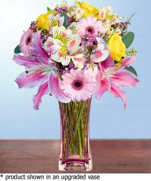 Anneme hediye karisik cam mevsim demeti  Bursa inegöl kaliteli taze ve ucuz çiçekler