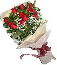 11 adet kirmizi güllerden özel buket  Bursa inegöl kaliteli taze ve ucuz çiçekler