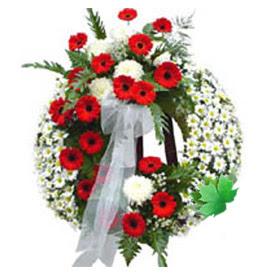Cenaze çelengi cenaze çiçek modeli  Bursa inegöl çiçek servisi , çiçekçi adresleri