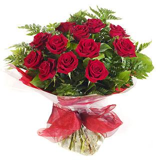 Ucuz Çiçek siparisi 11 kirmizi gül buketi  cicek Bursa iznik çiçek online çiçek siparişi