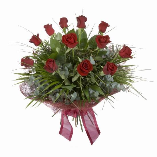 Etkileyici buket 11 adet kirmizi gül buketi  Bursa osmangazi internetten çiçek satışı