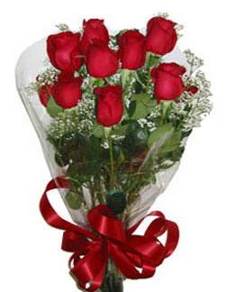 Çiçek sade gül buketi 7 güllü buket  Bursa ya çiçek yolla mudanya cicek , cicekci