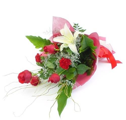 Mevsim çiçeklerinden karisik buket  çiçekçiler Bursa online çiçek gönderme sipariş